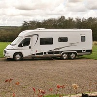 Motorhome on hardstanding
